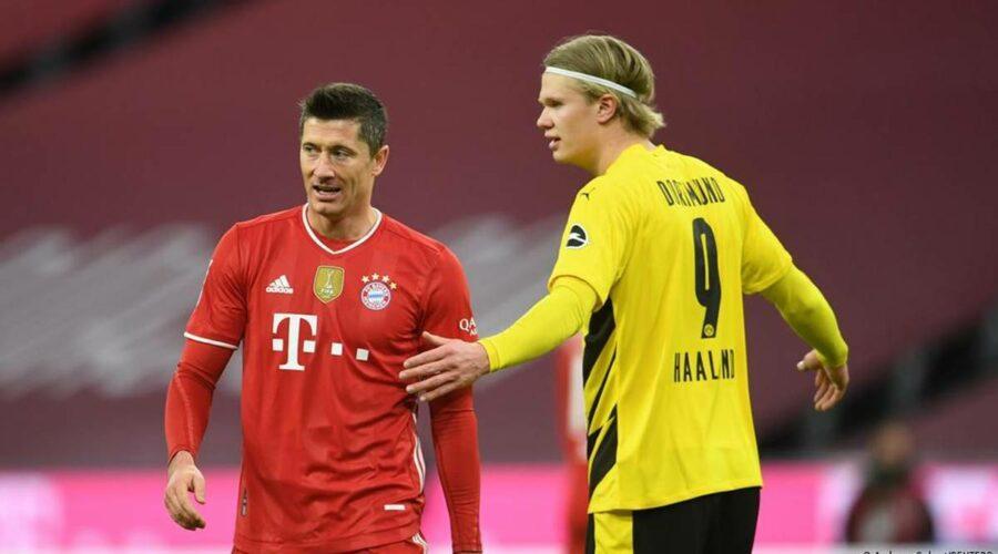 Borussia Dortmund vs Bayern Munich 2021 DFL Supercup final ...